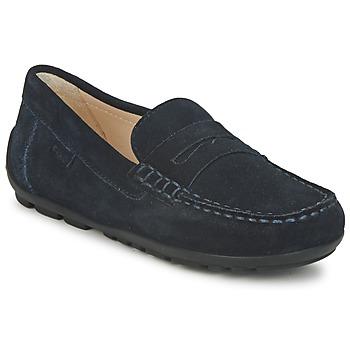 Chaussures Garçon Mocassins Geox FAST Bleu