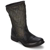 Chaussures Femme Bottes ville Bunker SARA SOL Marron