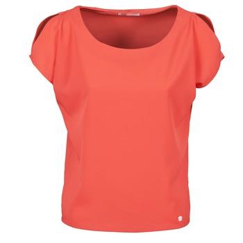 Vêtements Femme T-shirts manches courtes Les P'tites Bombes S145003 Rouge