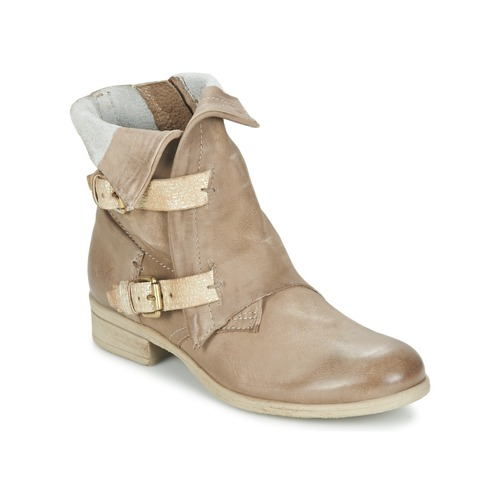 Chaussures Femme Boots Dream in Green ANJELIKA Beige