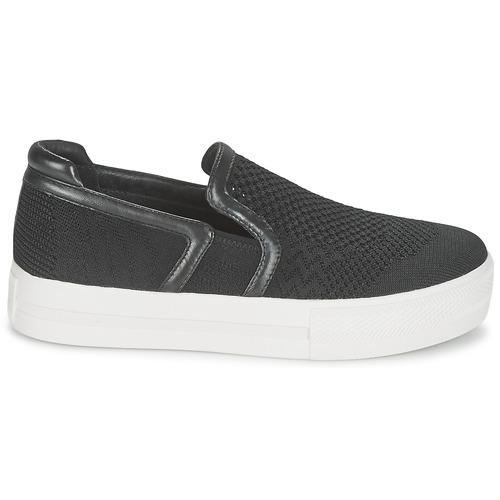 Ash JEDAY Noir - Chaussure pas cher avec- Chaussures Slip ons Femme 17500 lIgrEflG