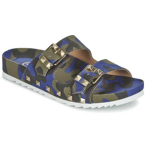 Chaussures Femme Mules Ash UBUD Bleu / Camouflage