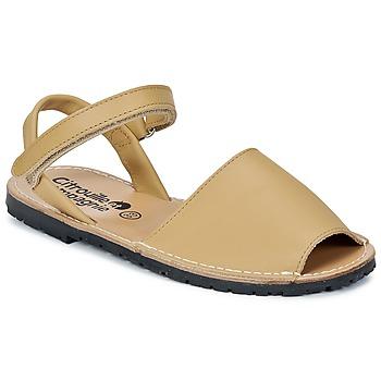 Chaussures Fille Sandales et Nu-pieds Citrouille et Compagnie SQUOUBEL Beige