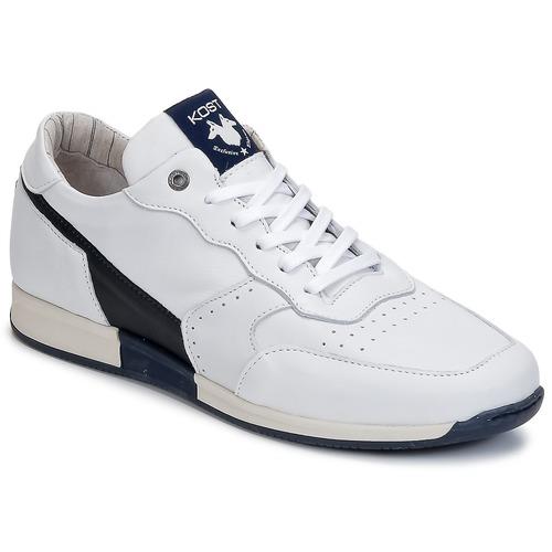 Chaussures Homme Baskets basses Kost HOOPER Blanc / Marine