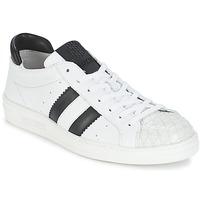 Chaussures Air max tnFemme Baskets basses Bikkembergs BOUNCE 594 LEATHER Blanc / Noir