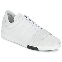 Chaussures Homme Baskets basses Bikkembergs OLYMPIAN LEATHER Blanc
