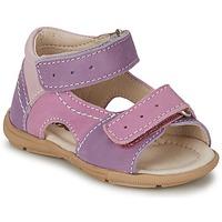 Chaussures Fille Sandales et Nu-pieds Citrouille et Compagnie KIMMY G Lilas / Violet / Nuee