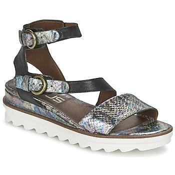 Chaussures Femme Sandales et Nu-pieds Mjus MIAMI Ecaille / Noir