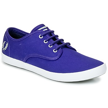 Chaussures Homme Baskets basses Fred Perry FOXX TWILL Violet