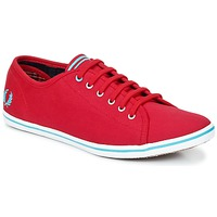 Chaussures Femme Baskets basses Fred Perry PHOENIX CANVAS Rouge / Bleu