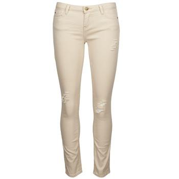 Vêtements Femme Jeans slim Acquaverde SCARLETT Beige