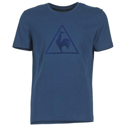 Vêtements Homme T-shirts manches courtes Le Coq Sportif ABRITO T Marine