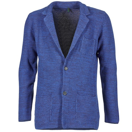 Vêtements Homme Vestes / Blazers Benetton BLIZINE Marine