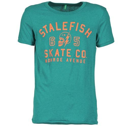 Vêtements Homme T-shirts manches courtes Benetton IXIDINE Vert