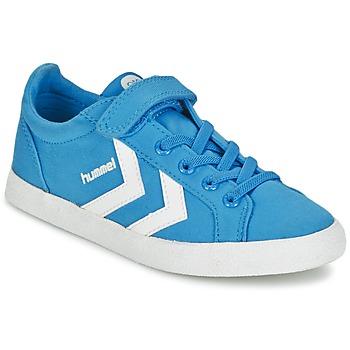 Chaussures Enfant Baskets basses Hummel DEUCE COURT JR Bleu