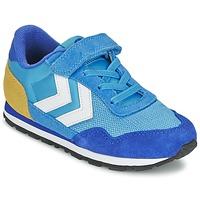 Chaussures Air max tnEnfant Baskets basses Hummel REFLEX JR Bleu
