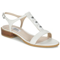Chaussures Air max tnFemme Sandales et Nu-pieds Clarks BLISS SHIMMER Blanc