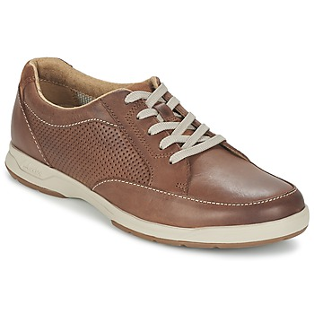 Chaussures Homme Baskets basses Clarks STAFFORD PARK5 Marron