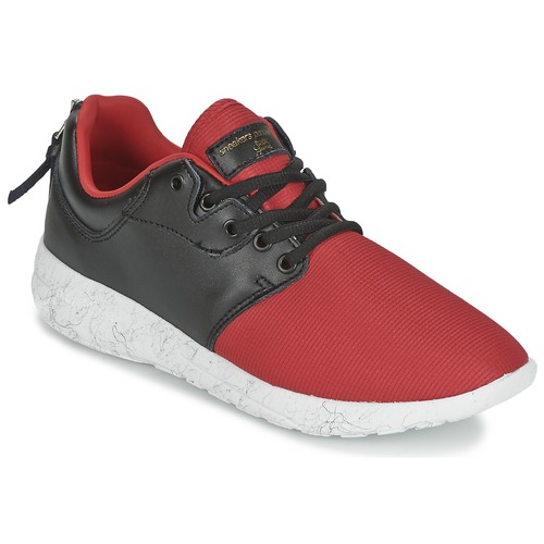 Chaussures Femme Baskets basses Sixth June DNR HELL F Rouge / Noir