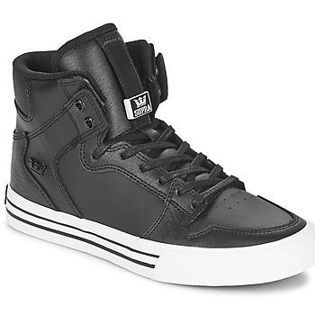 Chaussures Baskets montantes Supra VAIDER Noir / Blanc