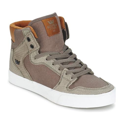 Chaussures Baskets montantes Supra VAIDER Marron