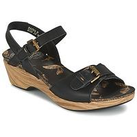 Chaussures Femme Sandales et Nu-pieds Panama Jack LAURA Noir
