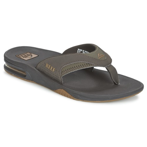 Chaussures Homme Tongs Reef FANNING Gris