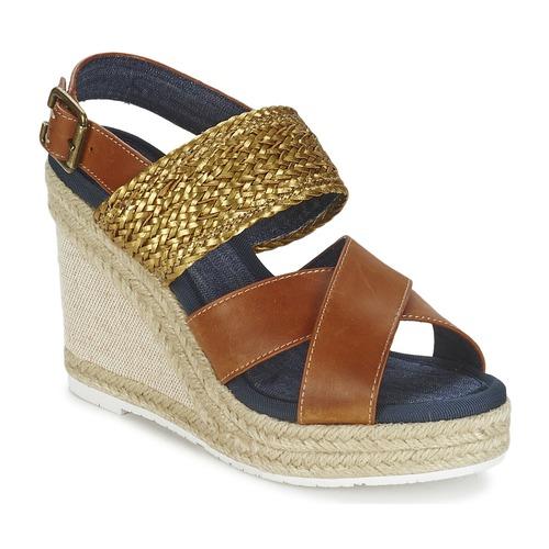 Chaussures Femme Sandales et Nu-pieds Napapijri BELLE Camel / Or