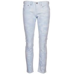 Vêtements Femme Pantalons 5 poches Roxy SUNTRIPPERS TIE-DYE Bleu