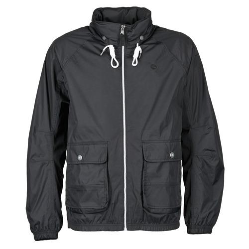 Vêtements Homme Coupes vent Timberland FRANKLIN HOODED JACKET Noir
