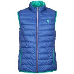 Vêtements Homme Doudounes U.S Polo Assn. USPA LT PADDED VEST Bleu