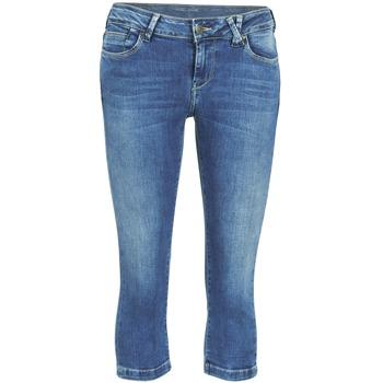 Pantalons 7/8 et 3/4 Teddy Smith PANDOR COURT COMF USED Bleu medium