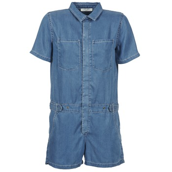 Combinaisons Teddy Smith CALINCA DENIM LYOCELL Bleu