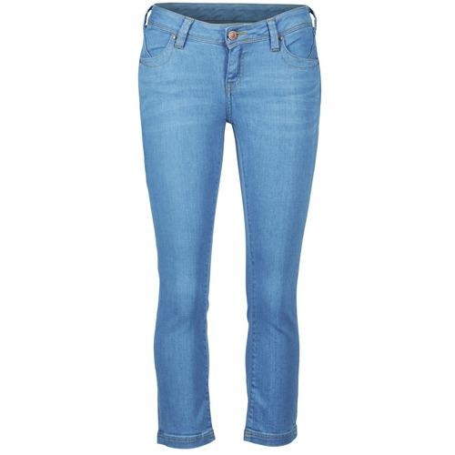 Vêtements Femme Pantacourts School Rag PART COURT COMF Bleu medium