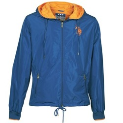 Vêtements Homme Blousons U.S Polo Assn. EIGHTEEN 90 Bleu / Orange