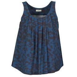 Vêtements Femme Débardeurs / T-shirts sans manche Lola CUBA Bleu / Noir