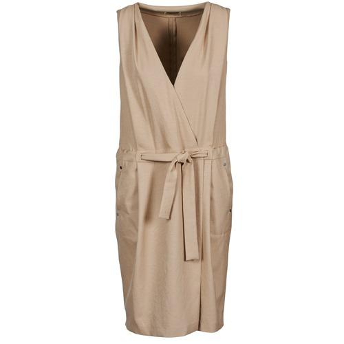 Vêtements Femme Robes courtes Lola ROOT Beige