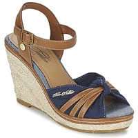 Chaussures Air max tnFemme Sandales et Nu-pieds Tom Tailor BASTIOL Marine