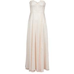 Vêtements Femme Robes longues Manoukian 613346 Rose Beige