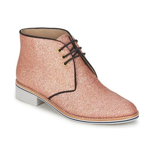 Chaussures Femme Boots C.Petula STELLA Rose