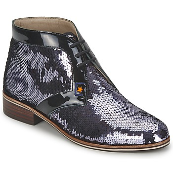 Chaussures Femme Derbies C.Petula PEGASE Argent