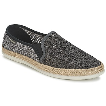 Chaussures Homme Slip ons Bamba By Victoria COPETE ELASTICO REJILLA Noir