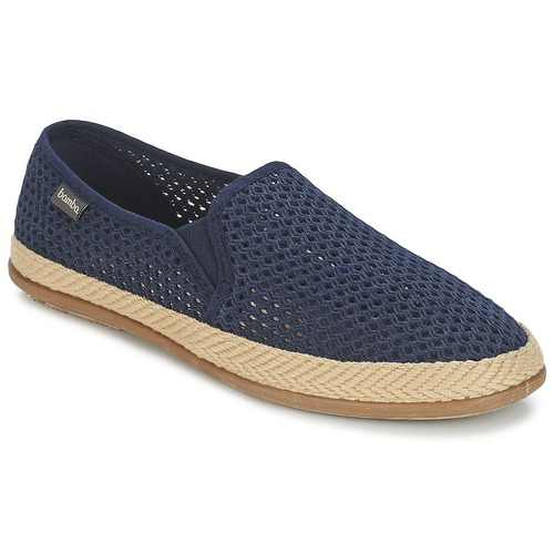 Chaussures Homme Slips on Bamba By Victoria COPETE ELASTICO REJILLA TRENZA Marine