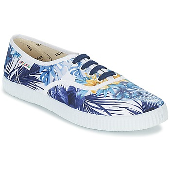 Victoria INGLES FLORES Y CORAZONES Blanc / Bleu
