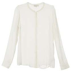 Vêtements Femme Chemises / Chemisiers Cream PANSY Ecru
