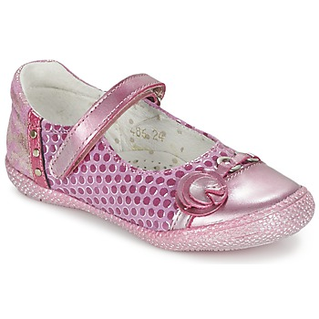 Chaussures Fille Ballerines / babies Babybotte KAYLINE Rose