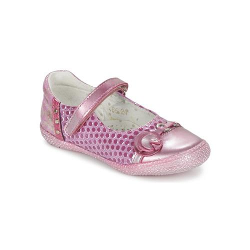 Chaussures Fille Ballerines / babies Babybotte KAYLINE Rose