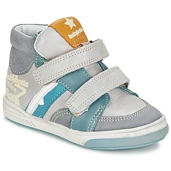 Chaussures Garçon Baskets montantes Babybotte APPOLON Gris