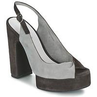 Chaussures Femme Sandales et Nu-pieds Jeffrey Campbell LARUE Gris / Marron
