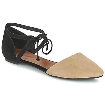 Chaussures Femme Sandales et Nu-pieds Jeffrey Campbell ENAMORED Beige / Noir